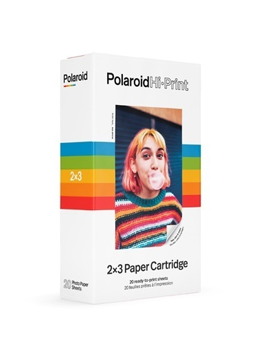 Polaroid Hi-Print 2×3 Uyumlu 20'li Film Renkli